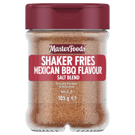 Shaker Fries Seasoning Mexican BBQ 185g